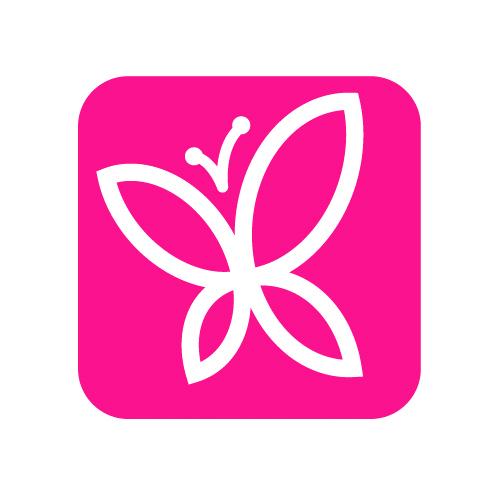 Žiletka pro úpravu obočí - růžová | Smart Lashes