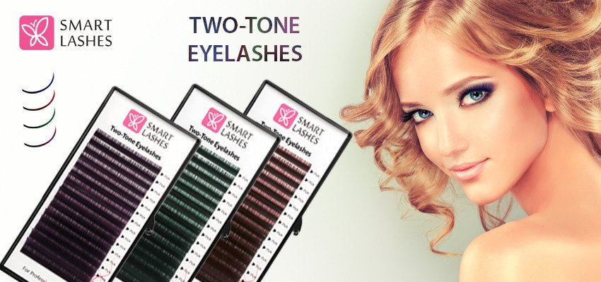 two tone lashes