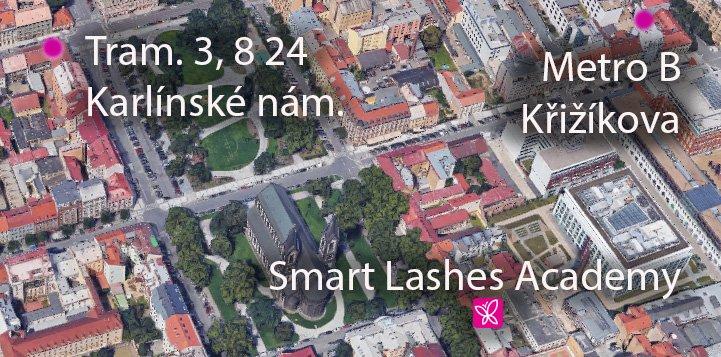 Adresa Smart Lashes Academy